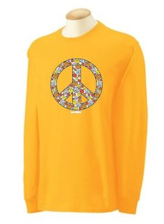 Peace Out Long Sleeve basketball tee