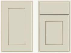 KraftMaid Willow Cabinet Door  kitchen cabinets