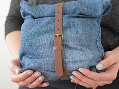 Tutorial fai da te: Come fare una borsa con dei vecchi jeans via DaWanda.com