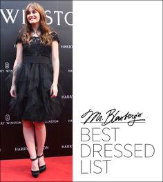 Best Dressed List...