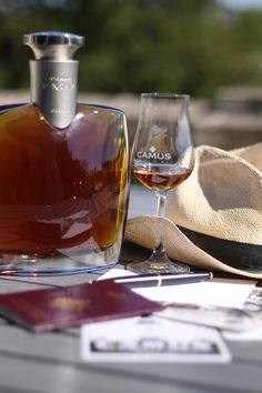 Greetings from my little corner of Paradise. Maybe you will receive a postcard from me. #cognac #alcool #drink