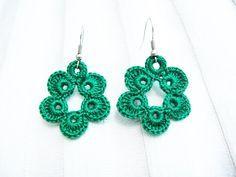 crochet earrings pattern - Αναζήτηση Google