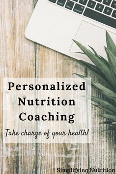 Work together with a Registered Dietitian to help you create a health plan personalized to YOU. Make a healthy lifestyle change today! By Kaitlyn @ SimplifyingNutrition.com