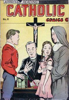Catholic comics, approved reading