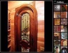 Custom Wine Cellar Doors – Great Selections Offered by Coastal Custom Wine Cellars Wine Cellar Design, Door Design, Cellar Doors, Coastal, Custom Design, New Homes, California, Toscana, More
