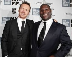 | NYFF | Michael Fassbender and Steven McQueen on the carpet at the New York Film Festival's screening of 12 YEARS A SLAVE