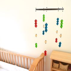 nursery mobile crib mobile baby mobile baby home by orangeandcoco, $55.00