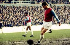 LEGEND: Geoff Hurst was a pivotal figure in West Ham's emergence as a strong cup side in the 1960s. In his time at Upton Park (1959 to 1972), he scored 249 goals in 502 games, including one in the 1964 FA Cup final win, a hat-trick for England in the 1966 World Cup final and SIX against Sunderland in an 8-0 win over Sunderland on October 19, 1968 in the old First Division.