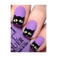 26 Spooktacular Halloween Nail Art Ideas ❤ liked on Polyvore featuring beauty products, nail care, nail treatments and nail polish
