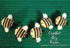 CrochetByKarin: Been a bit Beezy