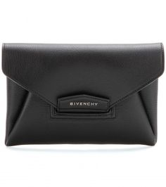 Antigona Small Leather Envelope Clutch by: Givenchy