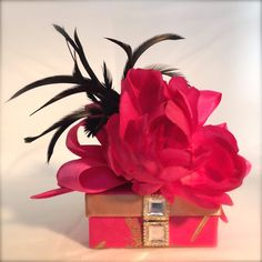 Gift Card Box Wedding Favor Bridesmaid gift by WrapsodyandInk, $13.00