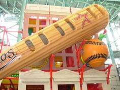 Custom Themed Indoor Playground at Houston Astros Minute Maid Park