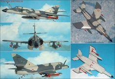 "Dassault ""Super Etendart"" Kampfflugzeug (Italeri 152) 1:72"