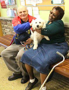Vietnam veteran adopts the senior dog he needs