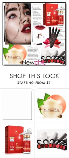"""Newchic,Beauty set 25."" by nudzi-ded ❤ liked on Polyvore featuring beauty"