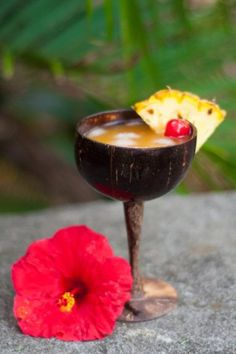 This martini recipe combines two of the Hawaii food favorite flavors; passion fruit and coconut. We use this recipe over and over again- Da Vine Hawaii Pureed Food Recipes, Dessert Recipes, Desserts, Martini Recipes, Cocktail Recipes, Hawaiian Cocktails, Fruit Puree, Recipe Using, Rum