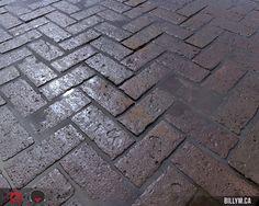 ArtStation - Herringbone Brick Material, Billy Matjiunis