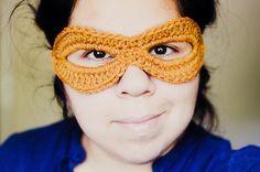 Crochet: Simple Mask « ohmygoodknits! // a knitting & crochet blog