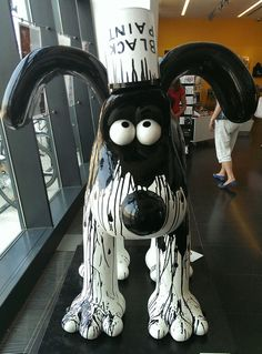 Gromit Unleashed Clay Animation, Shaun The Sheep, Dog Nose, Opposites Attract, All Things Cute, Animal Decor, Dog Show, Animal Sculptures, City Art