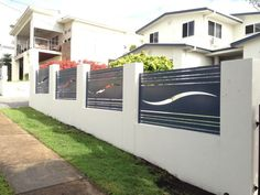 metal on pinterest laser cut metal screens and metal wall art - Wall Fencing Designs