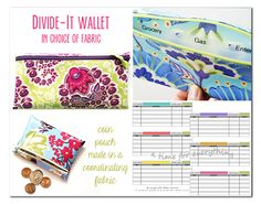 48-Hour Giveaway: Personalized Cash Envelope System (10 Winners)
