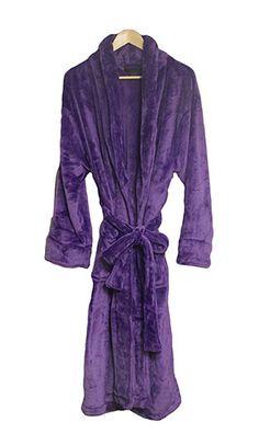 Purple Bathrobe for Men or Women
