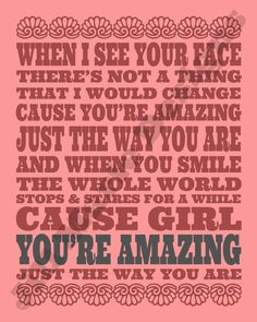 cause you re amazing