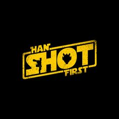 Han Shot First by R-evolution GFX - Shirt sold on July 19th at http://teefury.com - More by the artist at http://www.redbubble.com/people/RevolutionGFX