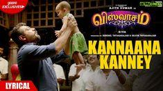 Viswasam Movie Kannaana Kanney Song Lyrics in Tamil (விஸ்வாசம் படத்தின் கண்ணான கண்ணே பாடலின் வரிகள் தமிழில்) Tamil Video Songs, Tamil Songs Lyrics, Song Lyrics, Audio Songs, Movie Songs, Hit Songs, Ringtone Download, Mp3 Song Download, Download Video