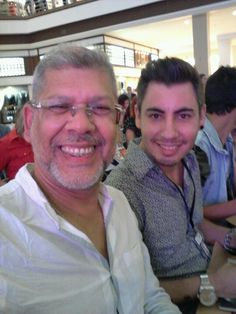 Com Márcio Massad