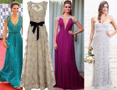 Modelos de vestidos de festa para copiar