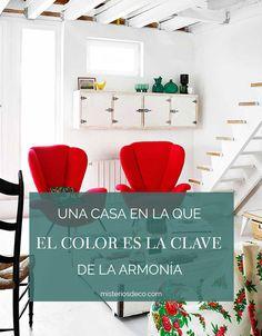 Si quieres una casa muy tuya, quizá es momento de empezar a salirte de lo convencional. Decorar con colores, es una oportunidad para crear un hogar en el que ser, tú, de verdad.   #redinterior #homedecor #living #decorar