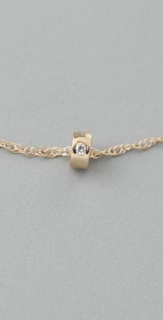 Ginette_ny mini tube and diamond necklace