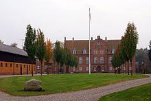 Knabstrup Manor is a manor house located near Holbæk on the Danish island of Zealand. It traces its history back to before 1288.