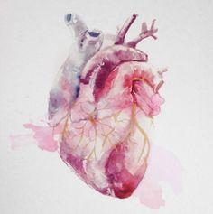 51 Super Ideas For Medical Art Painting Anatomy Medical Art, Medical School, Medical Humor, Anatomical Heart, Anatomy Art, Heart Anatomy, Anatomy Drawing, Heart Art, Art Inspo