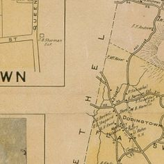 Bi-centennial map of the town of Newtown, Connecticut published under the direction of the Bi-centennial Committee. Plans and supervision by...