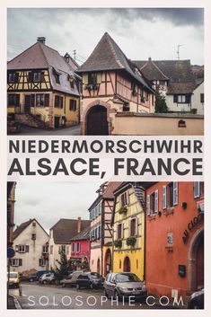 Your complete guide to the best things to do in Niedermorschwihr, a tiny town with a crooked spire church in the Alsace, East France