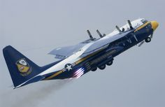 "C-130 ""Fat Albert"" doing a always impressive JATO rocket assisted Take off"