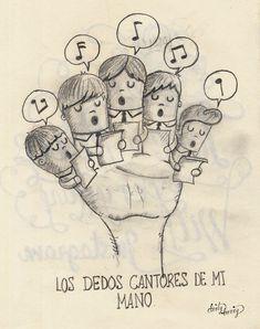 Los dedos cantores de mi mano -www.dirtyharry.es