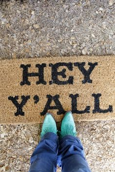 hey yall doormat - Junk GYpSy co.