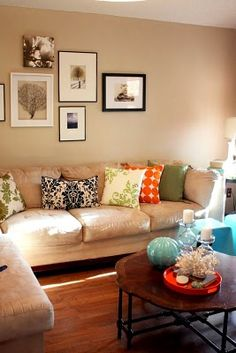Need colorful pillows!
