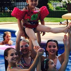 Fun day at the pool. Credit ♥Dancemoms luver♥