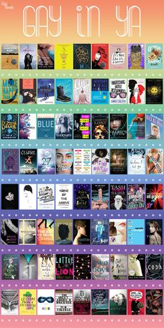 LOTS of LGBTQ+ reading recommendations