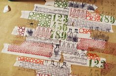 PaperArtsy - decorating masking tape for art journals