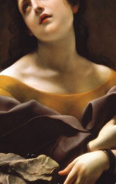 Allegory of Patience, Detail. by Carlo Dolci (1677)