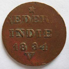 Nederlands-Indië 2 cent 1834