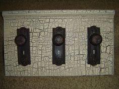 Primitive Hall Cupboard Coat Rack Shelf Pattern //Plan WN142