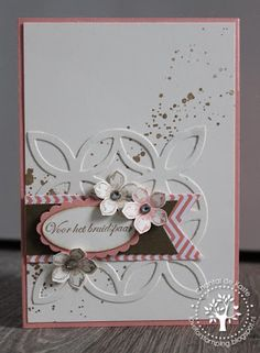 Stampin' Up! Lattice Die, gorgeous!