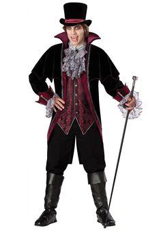 male adult wizard costumes | Elite Dracula Costume - Victorian Vampire Costumes Men